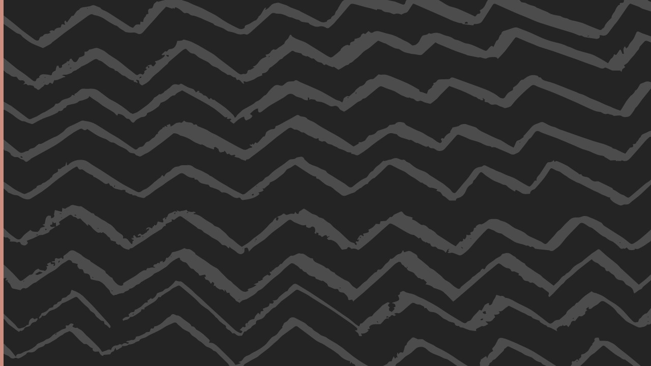 black background with gray zig zags