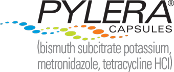 Logo for PYLERA CAPSULES bismuth subcitrate potassium metronidazole tetracycline HCl